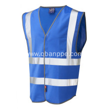 high visibility colorful reflective safety vest