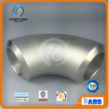 Встык фитинги из нержавеющей стали локоть 90d LR с штуцера трубы с asme В16.9 (KT0316)