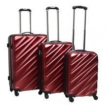 PET новый материал моды прокатки багажа набор