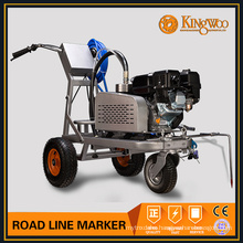 Hand push road line marker machine
