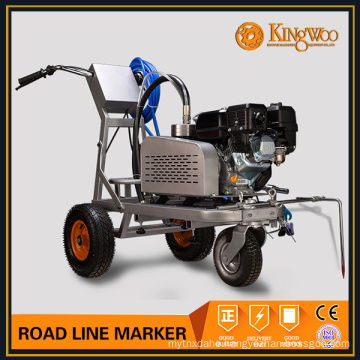 Hand push road line marker machine