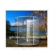Puerta automática de vidrio cristal