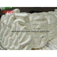 Fio de seda cru 20 / 22D da amoreira natural da categoria do fio de seda da categoria de 3A 4A 5A