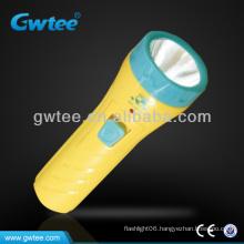 GT-8131 OEM Kids Plastic Mini LED Flashlight