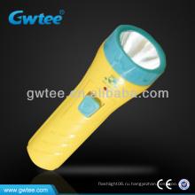 GT-8131 OEM детей пластиковые мини светодиодный фонарик