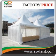Tente transparente avec nouveau design luxe Pavillon chinois pagode tente canopée 5x5m gzebo tente en gros
