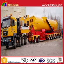 Special Transport Trailer with Hydraulic Steering Turning System