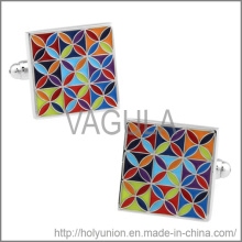 VAGULA Cuff Links Popular Flower Cufflinks (Hlk31728)
