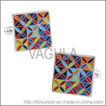 Botões de punho VAGULA abotoaduras flor Popular (Hlk31728)