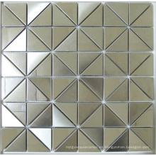 Azulejo del mosaico del metal del acero inoxidable del triángulo (SM265)