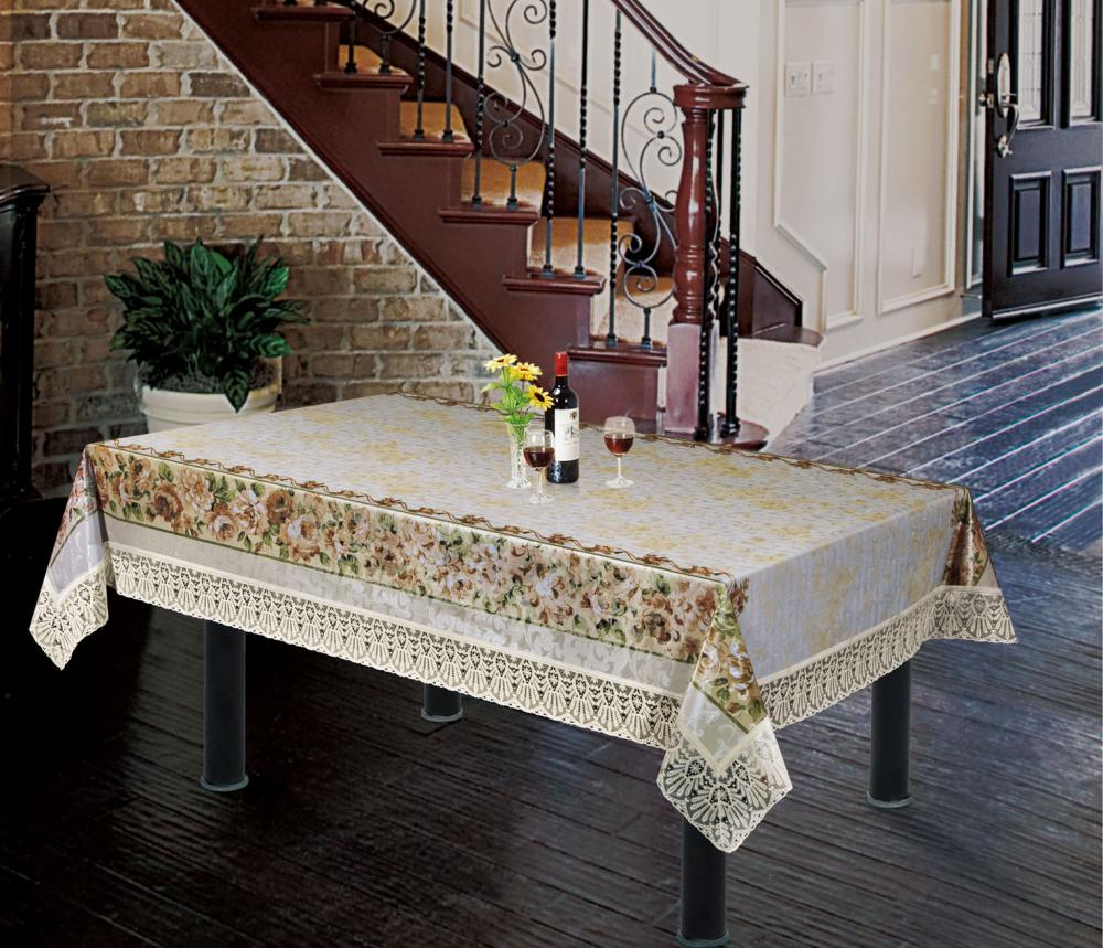 Lace Edge Tablecloth
