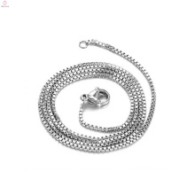 2018 New design fashionable jewelry platinum jewelry necklace platinum necklace chains platinum silver necklace