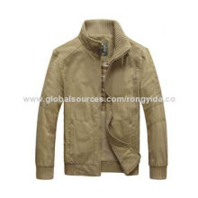 Men's Cotton Washed Jacket, Attractive Style, Wear Comfortable