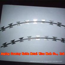 Zaun Rasiermesser Draht / Rasiermesser Stacheldraht / verzinkt Rasiermesser Draht / PVC beschichtet Rasiermesser Draht / Stacheldraht ---- 30 Jahre Fabrik