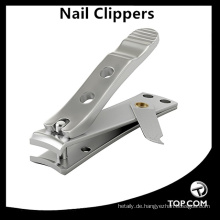 Edelstahl Nagelknipser Körperpflege Fingernagelschneider Sharp Fingernagel und Zehennagelknipser mit Feilen