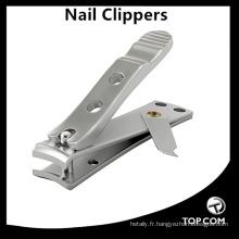 Coupe-ongles en acier inoxydable avec coupe-ongles et coupe-ongles tranchants