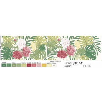 tela impresa de pigmento hermoso de microfibra polyestyer