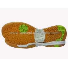 china cheap indoor soccer shoes soles for futsal