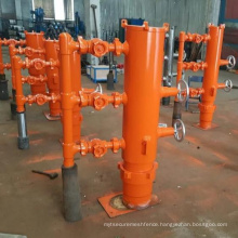 """13 3/8"""" 21MPa quick latch type cementing head with circulating head"""