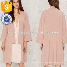 Pink Cardigan Coat OEM/ODM Manufacture Wholesale Fashion Women Apparel (TA7007J)