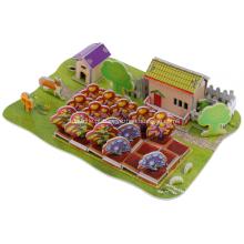 Quebra-cabeça do 3D QQ Farm