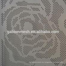 Perforiertes Metall-Sieb Blatt & Dekoration Edelstahl perforierte Blechpaneele