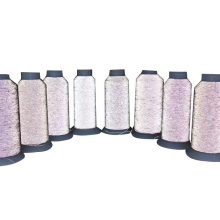 Knitted Socks Ultrafine Soft Highlight Reflective Thread