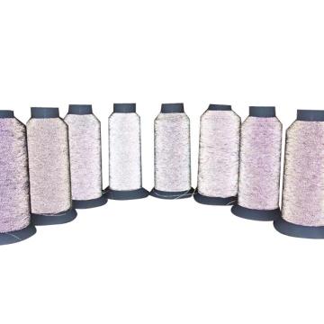 Calcetines de punto Ultrafine Soft Highlight Reflective Thread