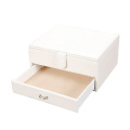 PU Sliding Cosmetic Rigid Container Gift Box