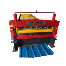 New five peak trapezoidal steel sheet machine
