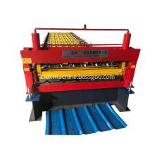 New five peak trapezoidal steel sheet machine