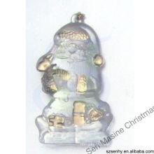 Decorações plásticas de Natal de Natal de 6 cm