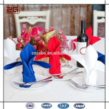 Professional Manufacture Elegant 100Cotton Setting Table Napkin Folding Wholesale