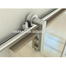 Herraje de puerta corredera de madera / Elegantes orillas de puerta de granero / Accesorios de puerta corredera de aluminio (LS-SDUV 3310)