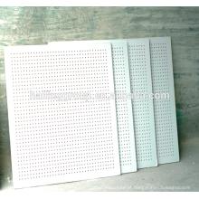 Placa de gesso perfurada acústica do Drywall do fabricante