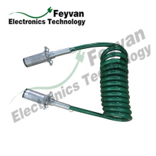 Custom Cable Assembly with TPU Coiled Wire