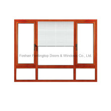 Feelingtop Good Quality Aluminium Fixed Window with Optional Blind (FT-W80)
