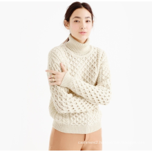 Ladies' elegant pullover pure cashmere knitting women sweater