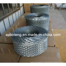 Mesh expansé galvanisé utilisé dans la construction