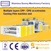 Multiple Layers CPP / CPE co-extrusion Casting Film Machine