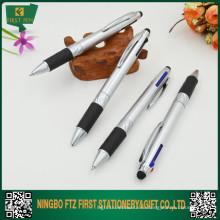 2015 Дешевая пластиковая многоцветная ручка