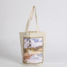 bolsa de algodón con bolsa de compras bolsa de asas