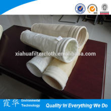 Fibras de aramida / FMS.fibra de vidrio Bolsa anti-filtro químico para fundición