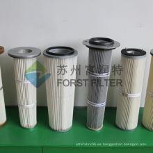 FORST Filtro antiestático industrial Bolsa de filtro de PTFE