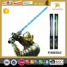Fantasia espada telescópica com luz e som