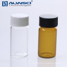 Klare Borosilikatglas PP 5ml chemische Speicherfläschchen