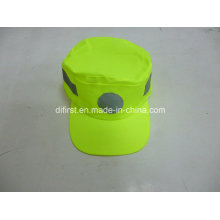 Reflective Safety Cap with Reflective Tape
