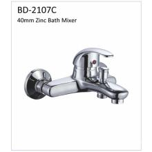 Bd2107c 40mm Single Lever Zinc Shower Faucet