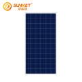 Panel solar polivinílico de 340W para sistema solar