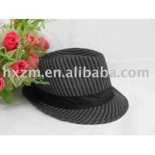Schwarzer 100% Baumwoll-Top-Hut mit guter Qualität